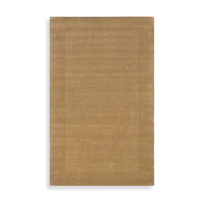 Alternate image 1 for Rizzy Home Bordered Platoon Area Rug in Latte