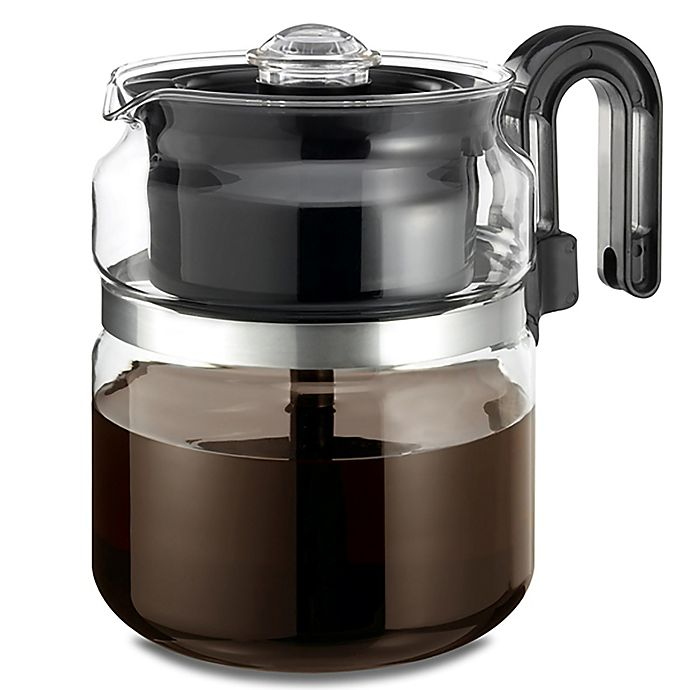 Alternate image 1 for Medelco® 8-Cup Glass Stovetop Percolator