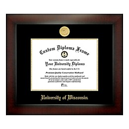 University of Wisconsin 8-Inch x 10-Inch Medallion Diploma Frame