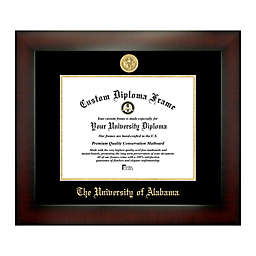 University of Alabama 8.5-Inch x 11-Inch Medallion Diploma Frame