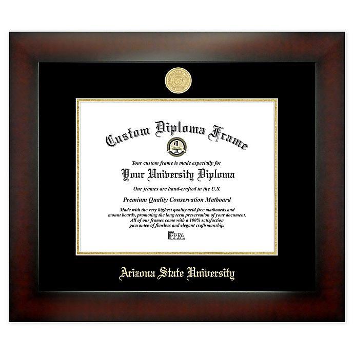 Alternate image 1 for Arizona State University 8.5-Inch x 11-Inch Medallion Diploma Frame