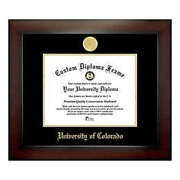 University of Colorado 8-Inch x 10-Inch Medallion Diploma Frame