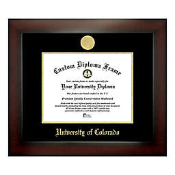 University of Colorado 8-Inch x 10-Inch Medallion Diploma Frame
