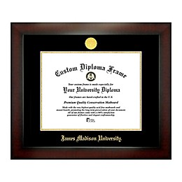 James Madison University 12-Inch x 16-Inch Medallion Diploma Frame