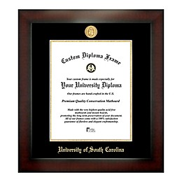 University of South Carolina 14-Inch x 11-Inch Medallion Diploma Frame