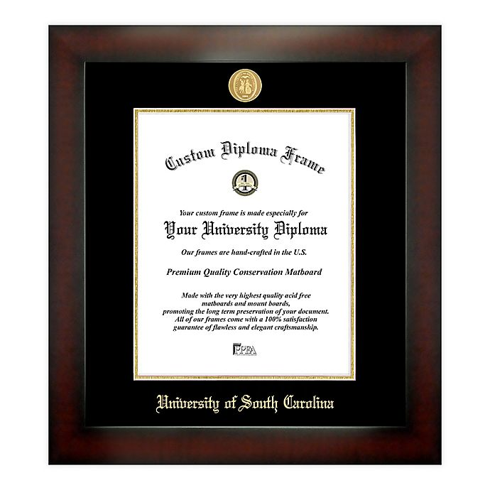 Alternate image 1 for University of South Carolina 14-Inch x 11-Inch Medallion Diploma Frame