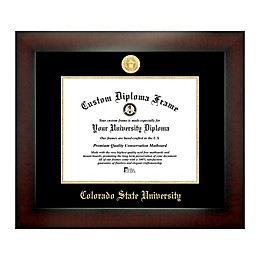 Colorado State University 8.5-Inch x 11-Inch Medallion Diploma Frame
