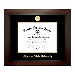 Montana State University 8.5-Inch x 11-Inch Medallion Diploma Frame