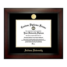 Indiana University 8.5-Inch x 11-Inch Medallion Diploma Frame