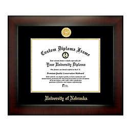 University of Nebraska 8.5-Inch x 11-Inch Medallion Diploma Frame