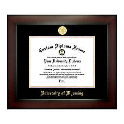 University of Wyoming 8.5-Inch x 11-Inch Medallion Diploma Frame