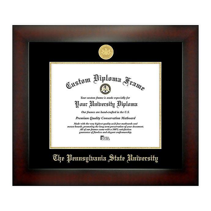 Alternate image 1 for Pennsylvania State University 8.5-Inch x 11-Inch Medallion Diploma Frame