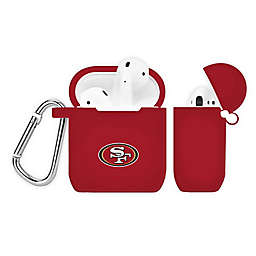 NFL San Francisco 49ers Silicone Cover for Apple AirPods Charging Case in Red