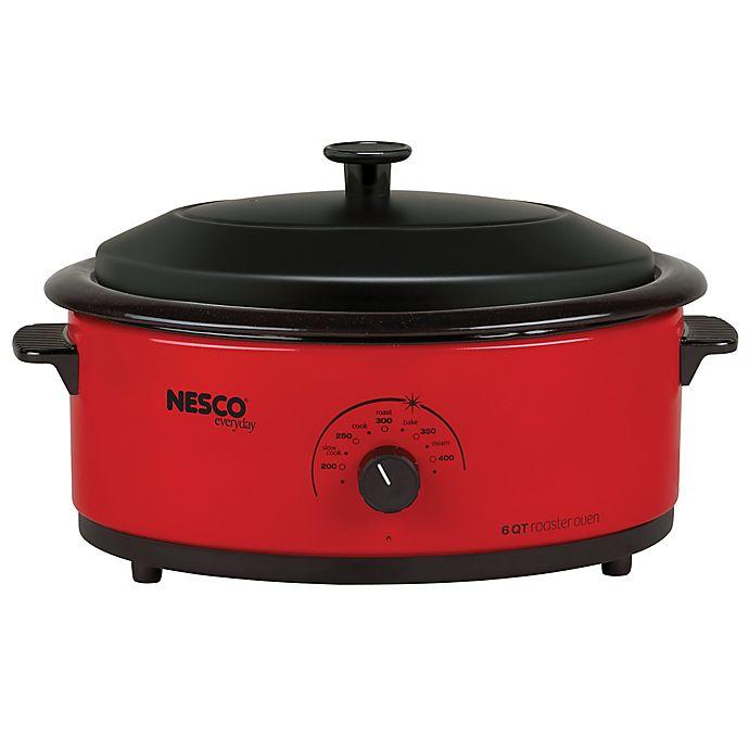 Alternate image 1 for Nesco® 6-Quart Electric Roaster Oven