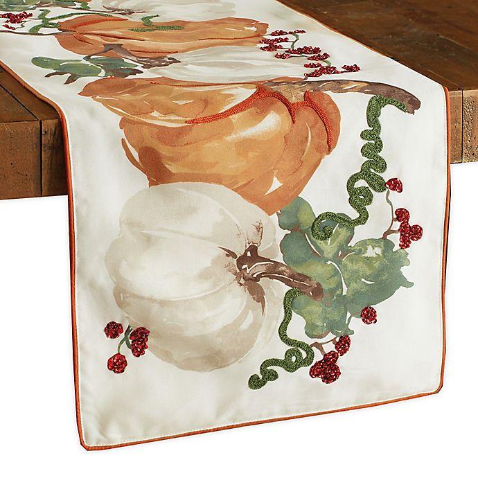 Alternate image 1 for Fall Pumpkin Vine Table Runner