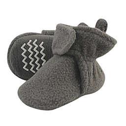 Hudson Baby® Size 18-24M Fleece Booties in Charcoal Grey