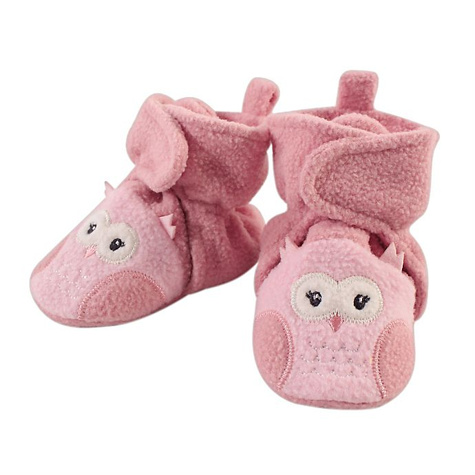 Alternate image 1 for Hudson Baby Animal Fleece Booties