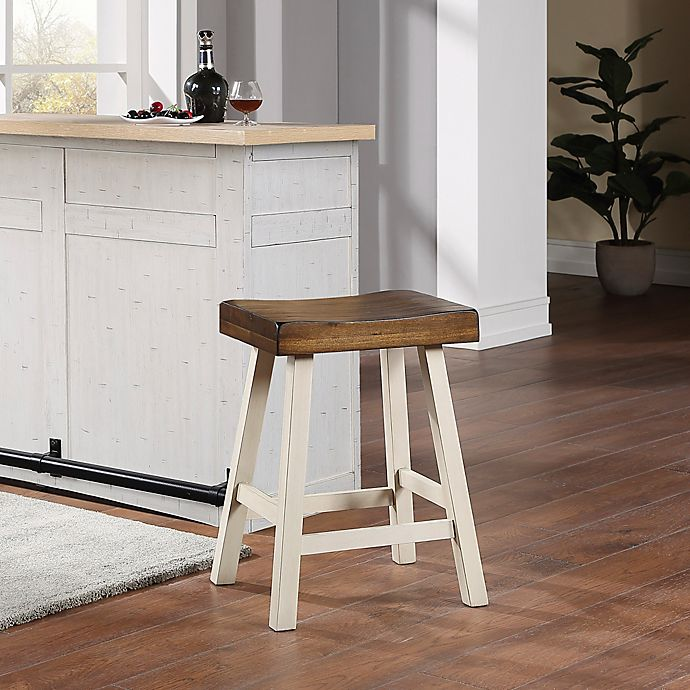 Alternate image 1 for Bee & Willow™ Home Saddle Bar Stool