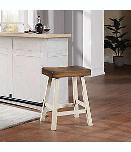 Banco cóncavo para bar Bee & Willow™ Home de 60.96 cm en blanco