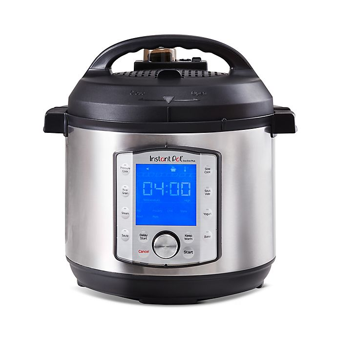 Alternate image 1 for Instant Pot® 10-in-1 Duo Evo 6 qt. Plus Programmable Electric Pressure Cooker