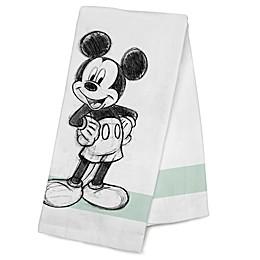 Disney® Mickey Mouse Kitchen Towel in Green Stripe