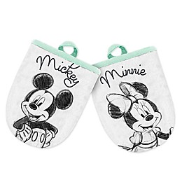 Disney® Mickey and Minnie Mini Oven Mitts (Set of 2)