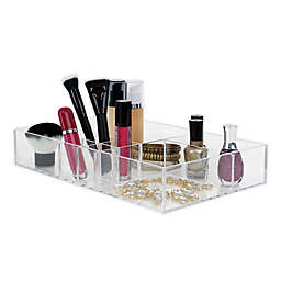 Splash® 8-Compartment Cosmetic Tray in Clear