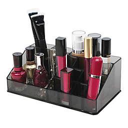 16-Compartment Cosmetic Organizer in Black