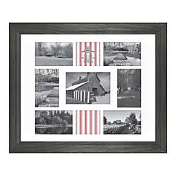 Bee & Willow™ Home 9-Photo Collage Matted Picture Frame in New Oxford Black