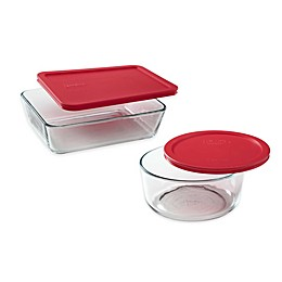 Pyrex® Storage Plus Glass Container Collection