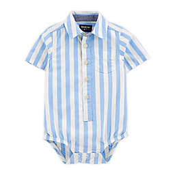 OshKosh B'gosh® Button-Front Short-Sleeve Bodysuit