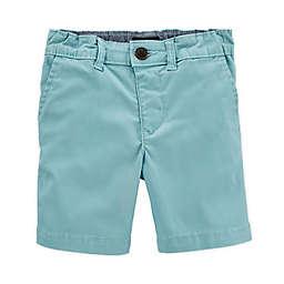 OshKosh B'gosh® Size 3M Twill Short in Aqua