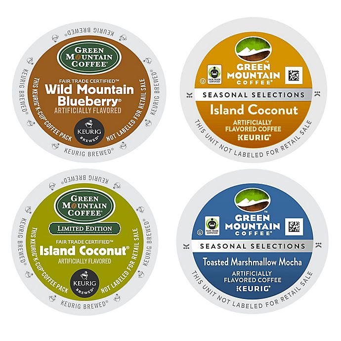 Alternate image 1 for Green Mountain Coffee® Keurig® K-Cup® Pods Sweet Treat Coffee 18-Count Collection