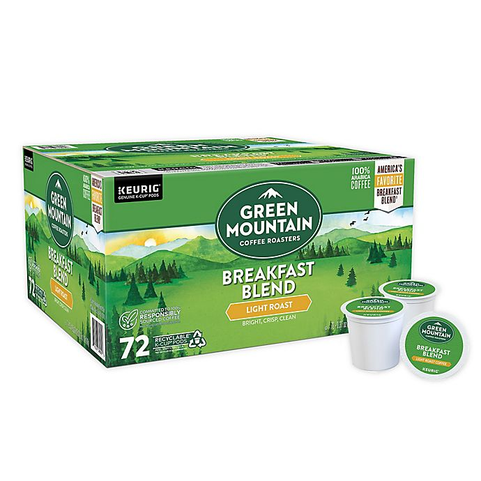 Alternate image 1 for Green Mountain Coffee® Breakfast Blend Coffee Keurig® K-Cup® Pods 72-Count