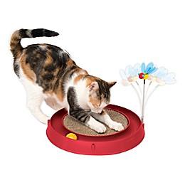 Catit 3-in-1 Circuit Cat Toy in Red