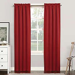 Sun Zero® Mariah Room Darkening Rod Pocket Window Curtain Panel