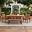 Part of the Forest Gate Olive Acacia Wood Patio Furniture Collection