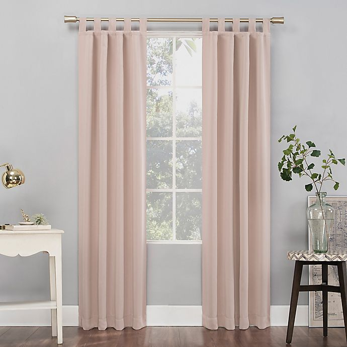 Alternate image 1 for Sun Zero® Mariah Tab Top Curtain Panel