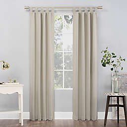 Sun Zero Mariah 84-Inch Tab Top Curtain Panel in Pearl