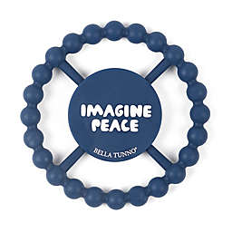 """Bella Tunno™ Kindness Collection """"Imagine Peace"""" Happy Teether"""
