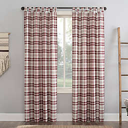 No.918® Blair 84-Inch Tab Top Curtain in Red