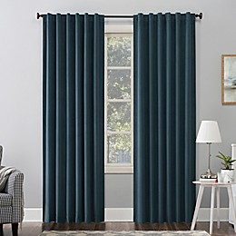 Sun Zero® Amherst Extreme Blackout™ Thermal Back Tab Window Curtain Panel