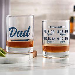 Established Custom Printed Whiskey Glass