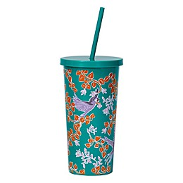 kate spade new york Bird Party Tumbler with Straw