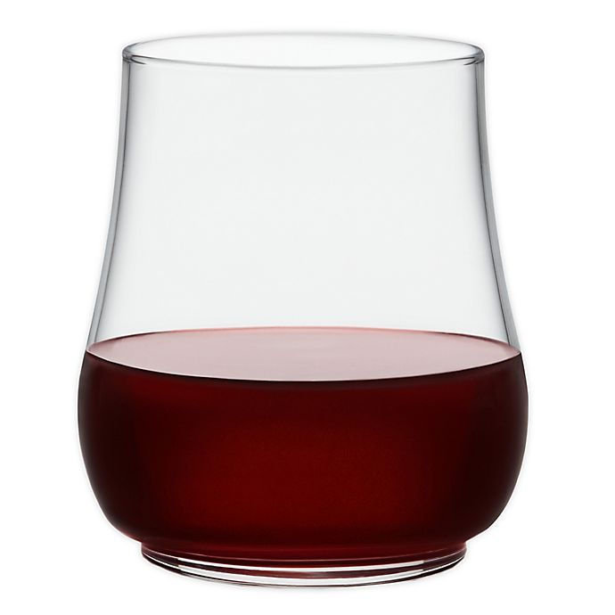 Alternate image 1 for Libbey® Glass Perfect for Everything Stackable Stemless Wine Glasses (Set of 6)