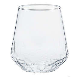 Libbey® Glass Hammered Stemless Wine Glasses (Set of 8)