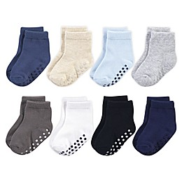 Touched By Nature® 8-Pack Non-Skid Socks