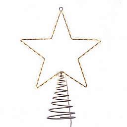 Kurt Adler 17.5-Inch Metal Lighted LED Star Tree Topper