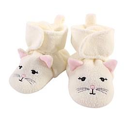 Hudson Baby® Kitty Booties in Beige