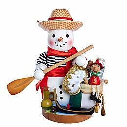 Steinbach Italian Snowman 12.75-Inch Nutcracker